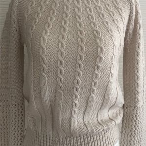 Anthropologie Sweaters - Anthroplogie by Guinevere Ivory Knitted Sweater